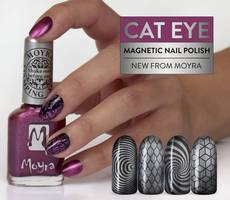 Künstlerische Nail Art, Nageldesign-Profis, Nailart-Technik Stamping, Naturnägeln, Kunstnägel, Moyra NailArt Stamping Lack SP31 Cat Eye Magnetic Gold, SP31 Cat Eye Magnetic Gold Stempellack, Nageldesign Wien - Nagellack, Shellac, Gel Polish Lacke, Cuticle Oil und Nagelpflege fürs Nagelstudio