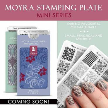 Moyra MINI Stamping Plate - Angel Will Cry Nr.101
