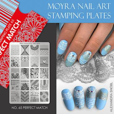 Moyra Stamping Platte Perfect Match Nr.65