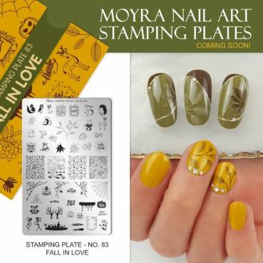 Moyra Stamping Platte - Fall in Love Nr.83