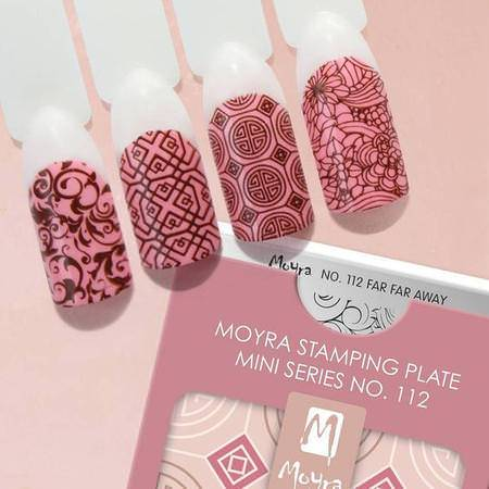 Moyra MINI Stamping Plate - Far Far Away Nr.112