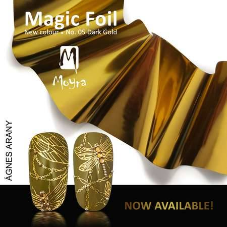 Magic Foil 60cm x 5cm Folie - Dark Gold Nr.5