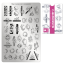 Nailart Stamping Schablone - Blossometry 2 Nr.93